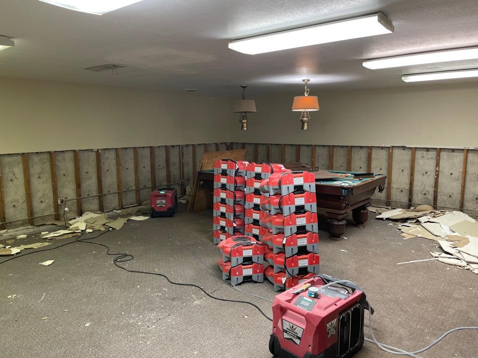 Tulsa, OK - Demolition on sewer back up damage!