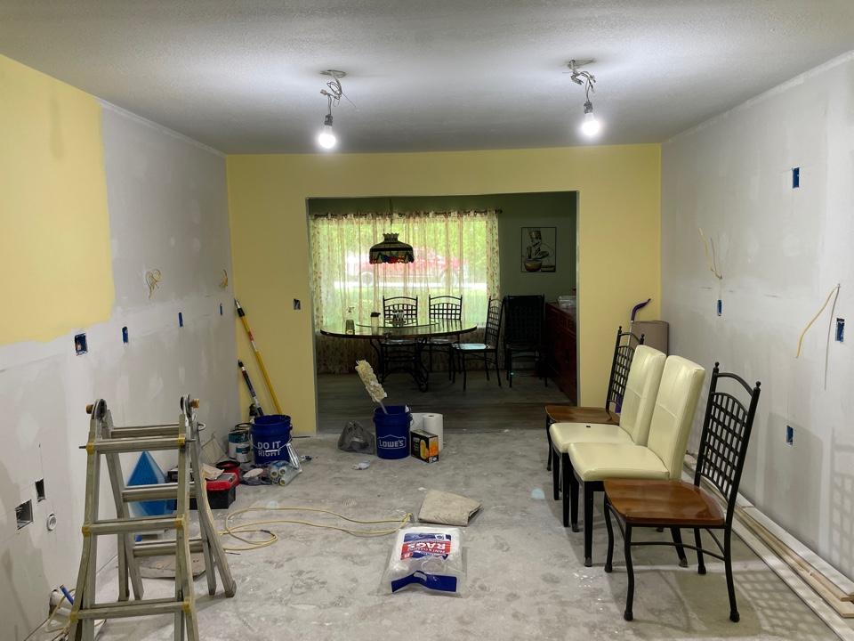 Broken Arrow, OK - Interior paint for Kitchen Remodel!