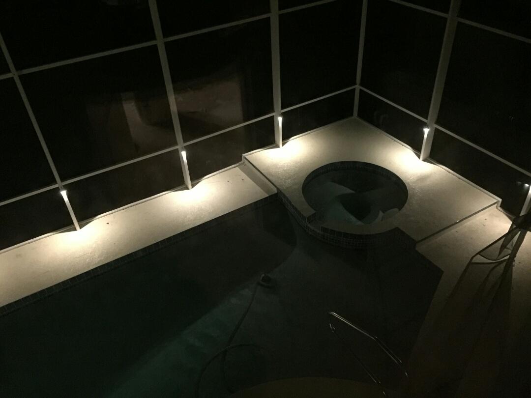 Sarasota, FL - Installed landscape lights, chandelier, pool cage lights, under cabinet lights, etc.....