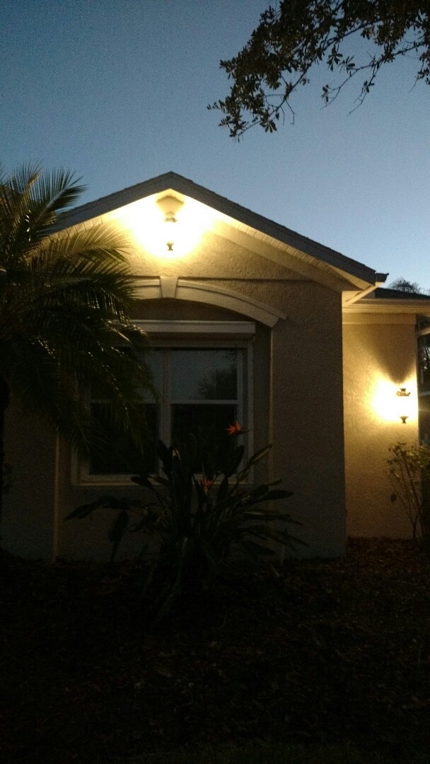Parrish, FL - Installation of new light where there was not one before
