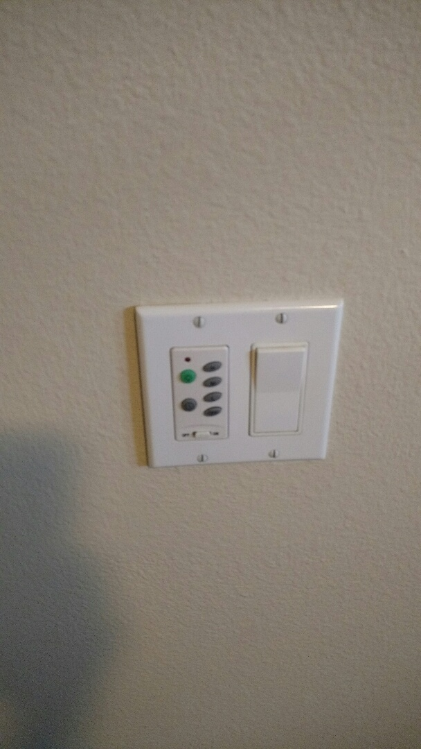 Parrish, FL - Installed new fan remote kit and troubleshot fan light and fixed
