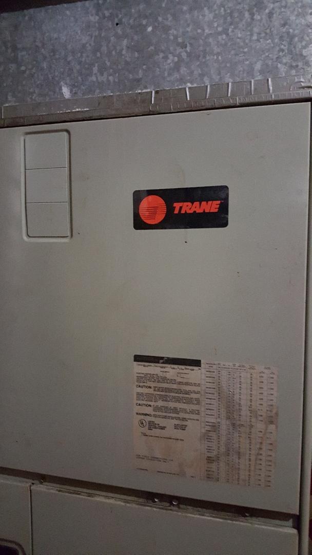 Whitehouse, TX - Servicing a Trane air handler