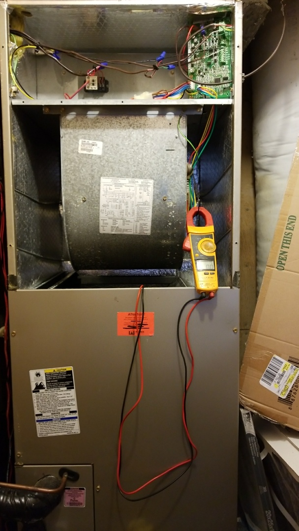 Carthage, TX - Servicing a carrier air handler