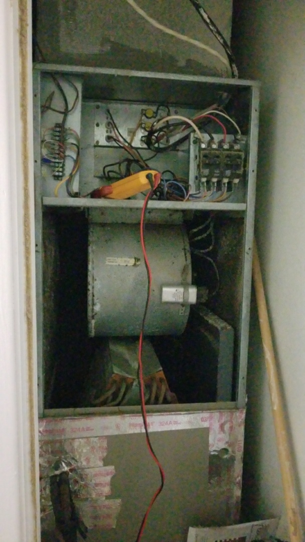 Replacing a sequencer in a goodman electric heater