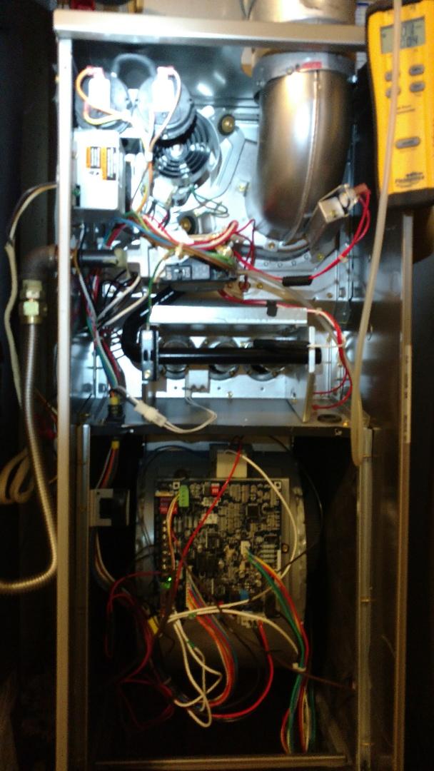 Tatum, TX - Working on heating maintenance