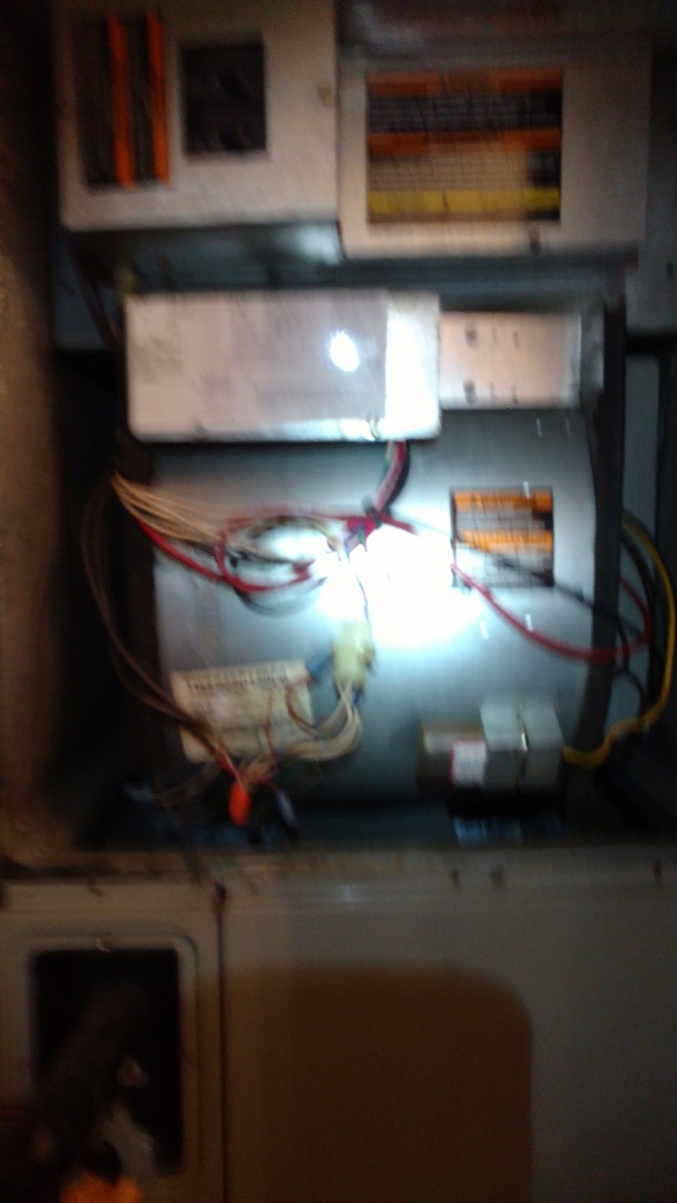 Arp, TX - Performing first ever maintenance and cleaning on Trane unit