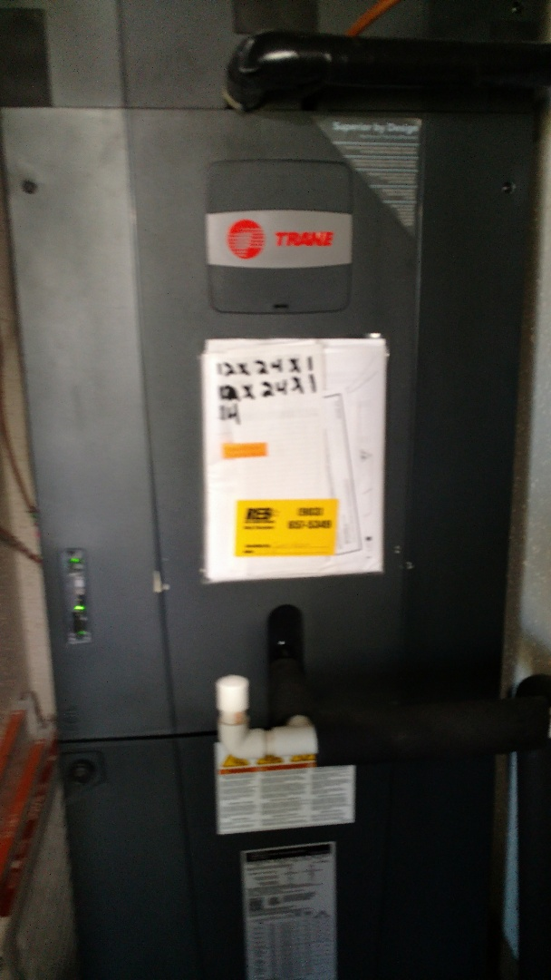 Troup, TX - Working on heating maintenance