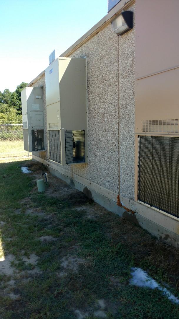 Jacksonville, TX - Working on cooling maintenance