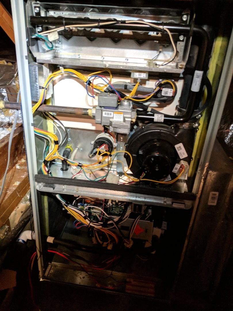 Tyler, TX - Performing a heating maintenance
