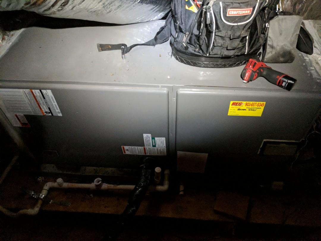 Beginning a heating maintenance