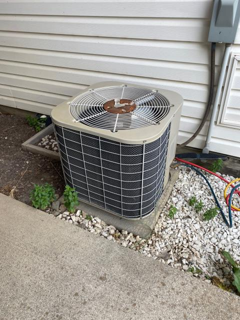 Colville, WA -  AC Unit freezing up at night we installed de-ice control , evap coils look good
