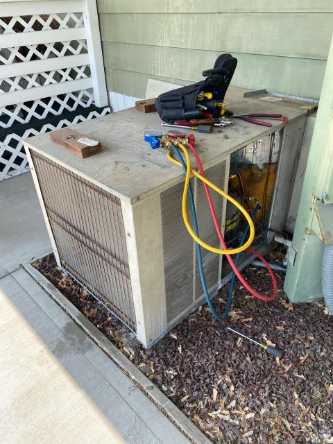 Colville, WA - AC not coming on dirty air filter replace wash condenser coil  check charge