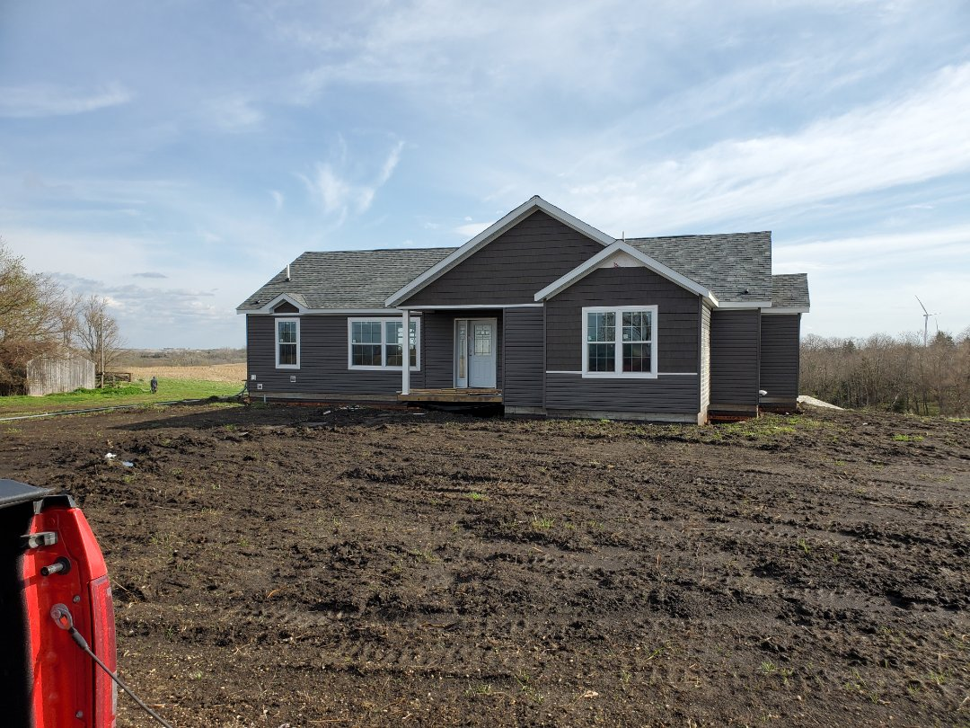 Bedford, IA - Nice 1800' square foot home in Western Iowa ready for interior finish