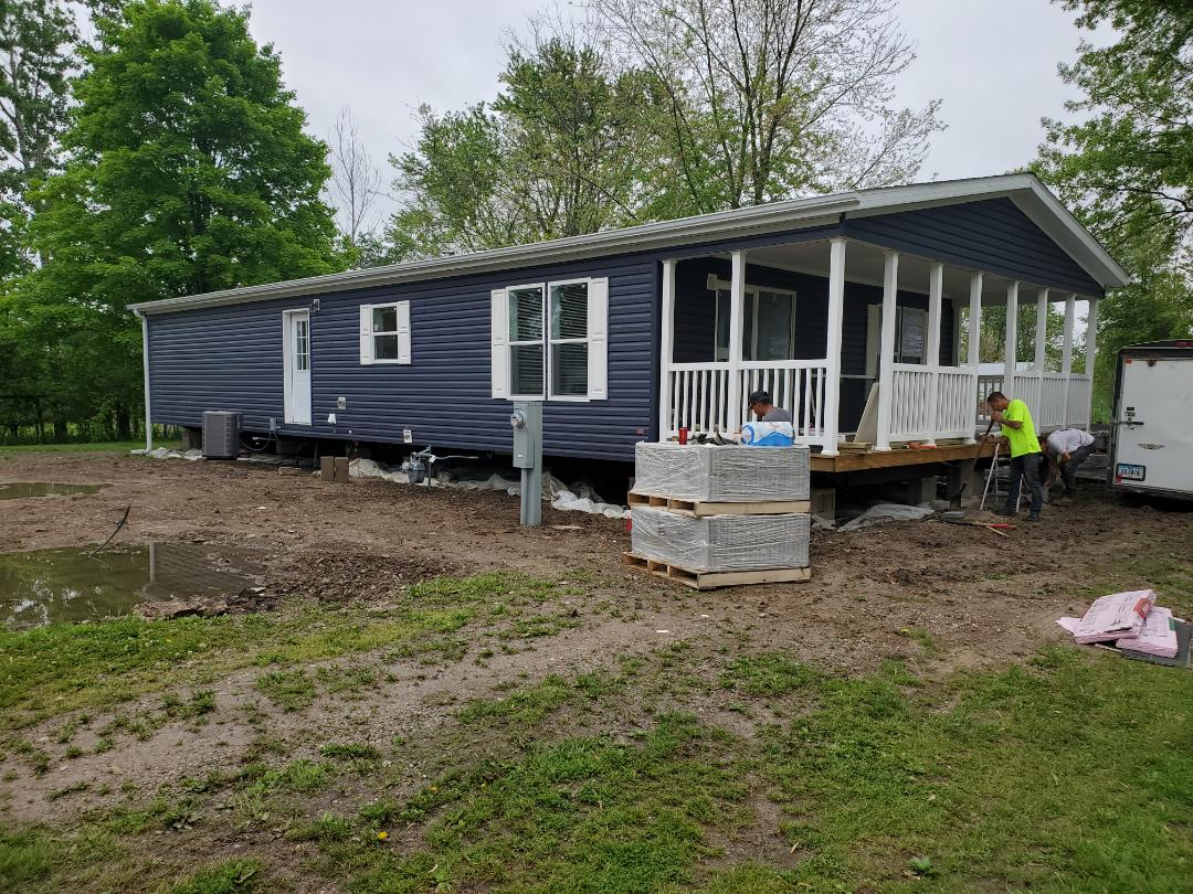 Fairfield, IA - New century porch model In progress