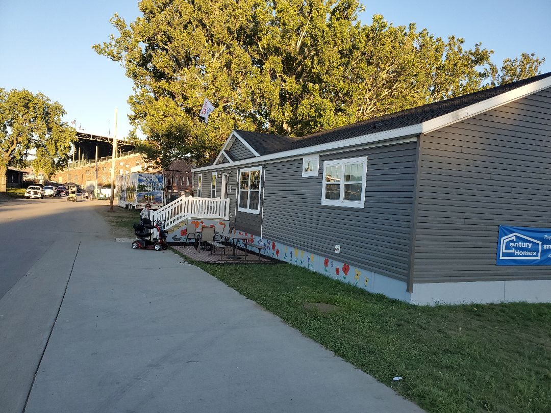 Des Moines, IA - New home on display at the Iowa state fair