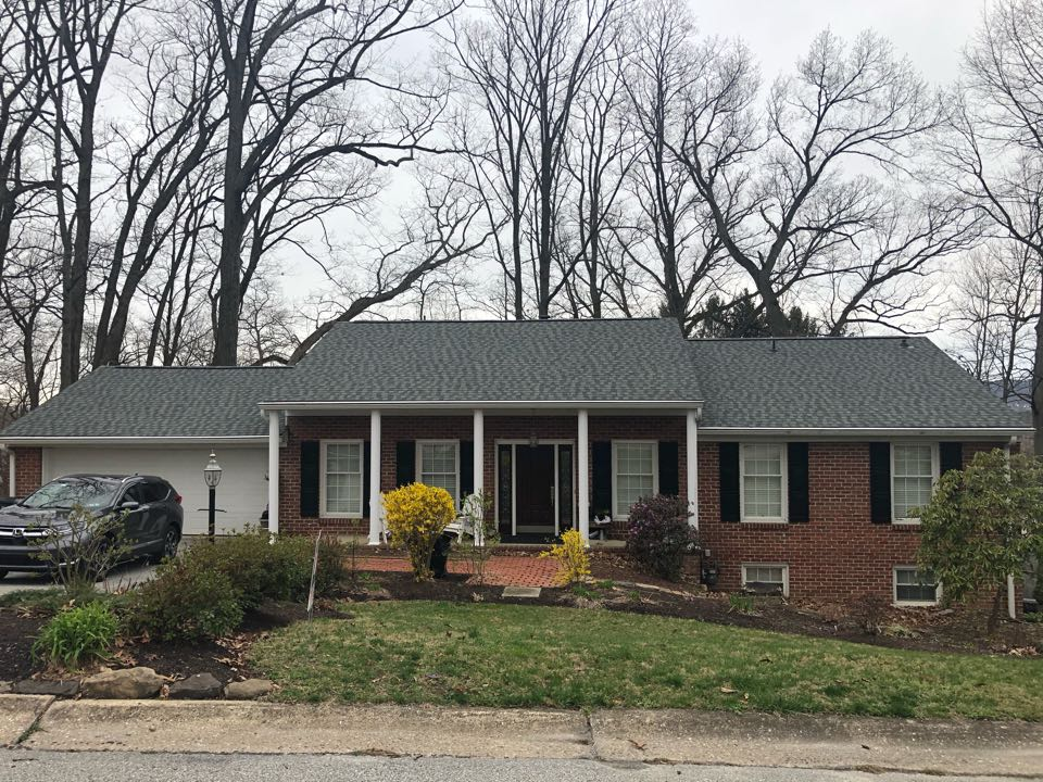 York, PA - Called for roof replacement.  New GAF Timberline HDZ shingles.