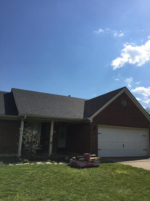 Lexington, KY - Full roof replacement!  We want to thank you for becoming a valued customer and allowing Jacob's Ladder Inc. to work on your property in the Firebrook Subdivision in Lexington, KY 40513.  It has been a pleasure providing you with our services.