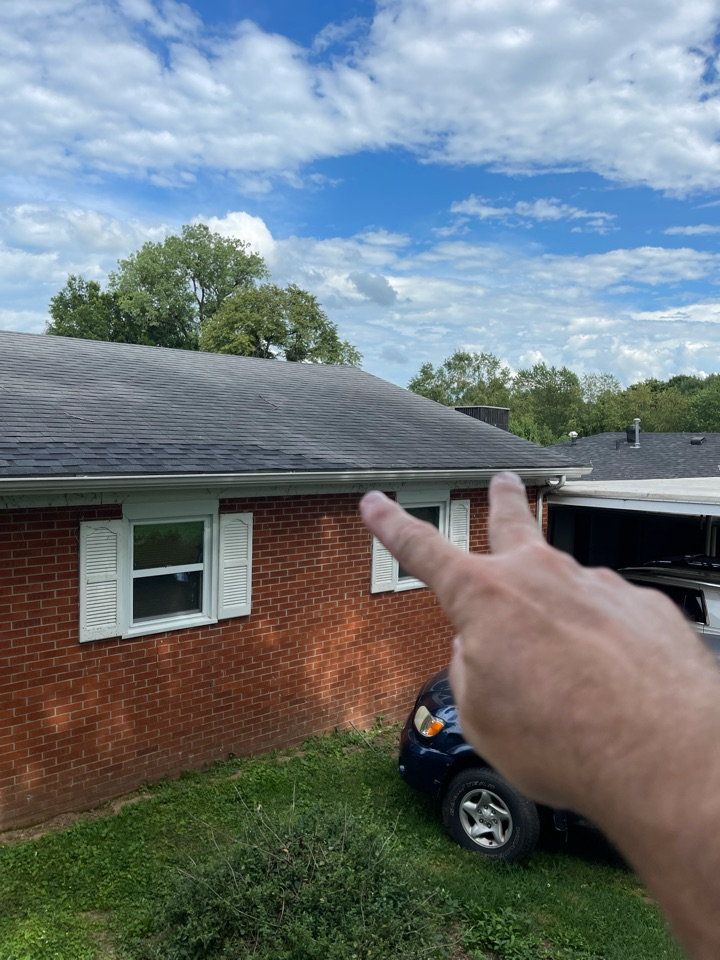 Getting a Free roof inspection and estimate for a roof replacement is east in Lancaster Kentucky, Call Jacobs ladder Roofing and Restoration for fast reliable service!