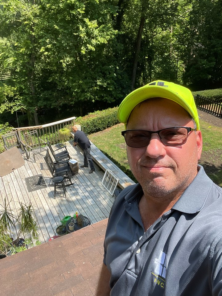 Midway, KY - Tree fell on the house, putting together an estimate for full roof replacement and structural repairs here in beautiful Midway Kentucky.