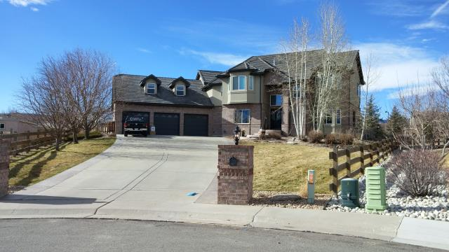 Arvada, CO - A New Boral, Concrete Tile roof installation due to hail damage in the Arvada area.