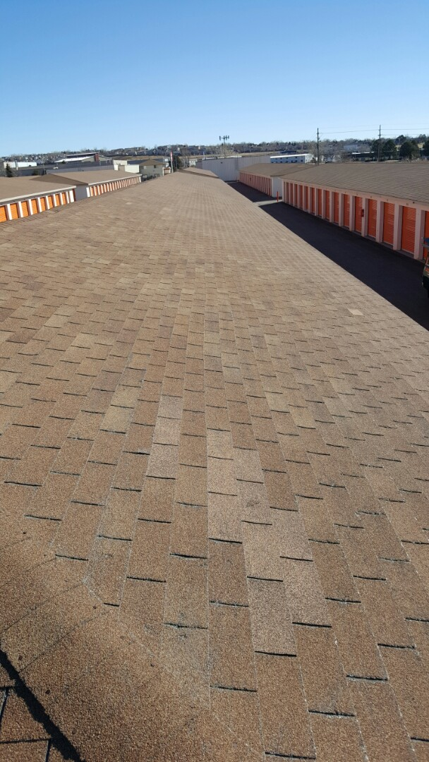 Colorado Springs, CO - Roof repairs on a commercial building