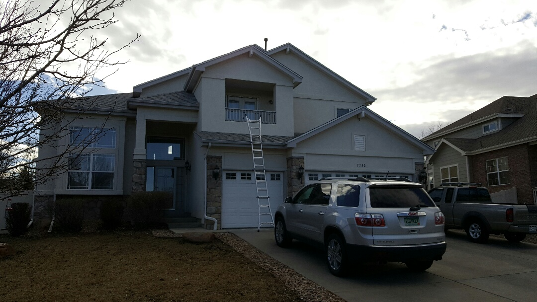Westminster, CO - Roof repair after wind storm