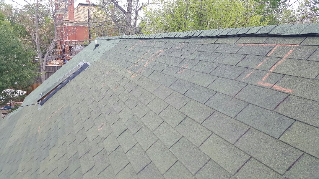 Denver, CO - Another roof paid for by insurance!