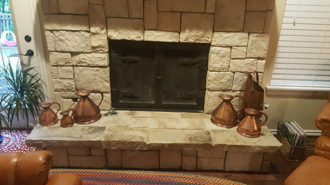 Edmond, OK - Gas fireplace repair service visit to residential client near oak tree golf course after finding fault in the voltage supply system replacing aa batteries Xs 4