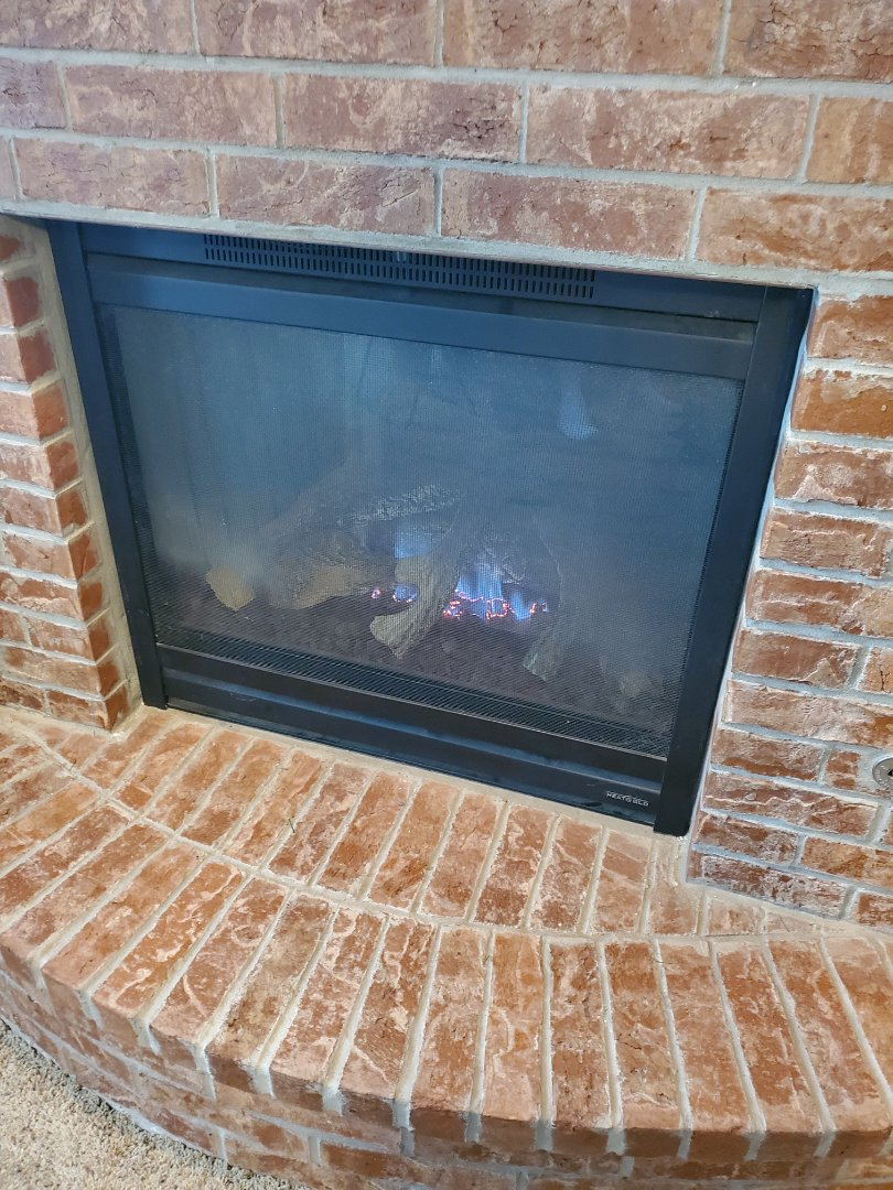 Oklahoma City, OK - Gas fireplace repair service call finding faulty electrical connection to remote wall switch