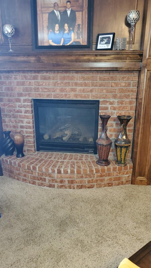 Oklahoma City, OK - Gas fireplace repair services near lake Arcadia