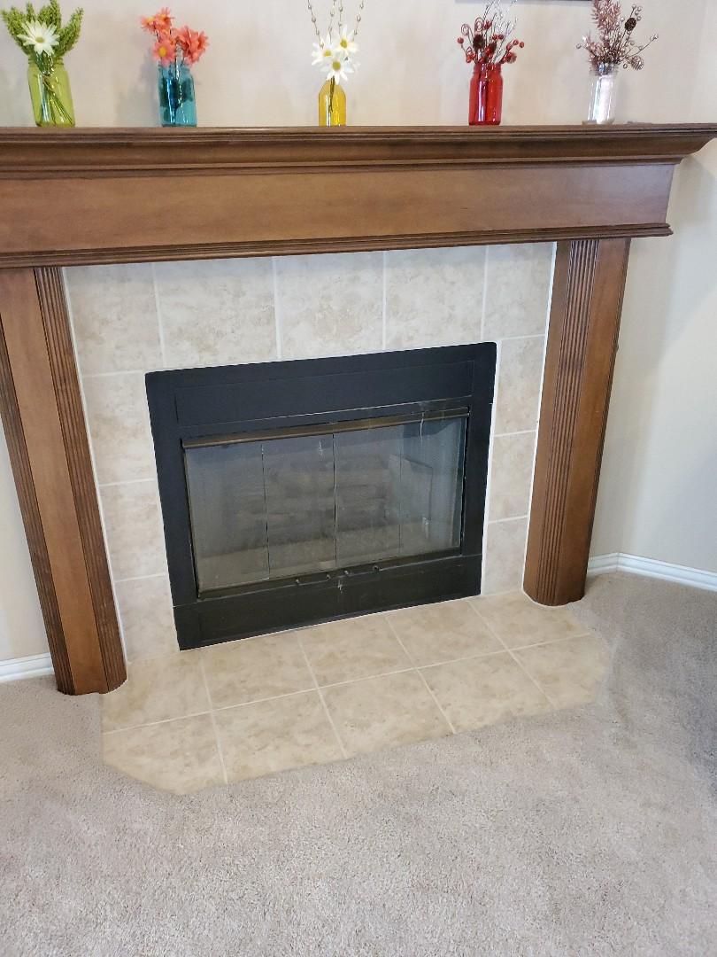 Oklahoma City, OK - Gas fireplace repair service call