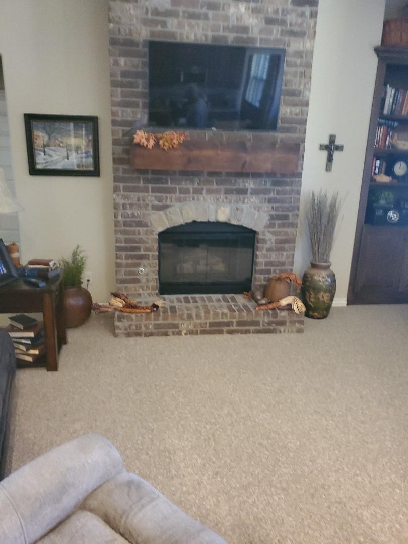 Gas fireplace inspection service