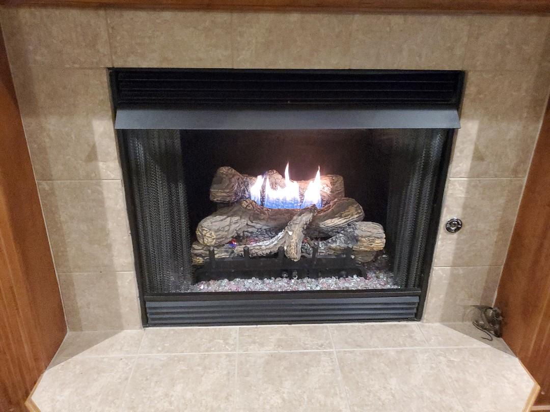 Oklahoma City, OK - Gas fireplace repair
