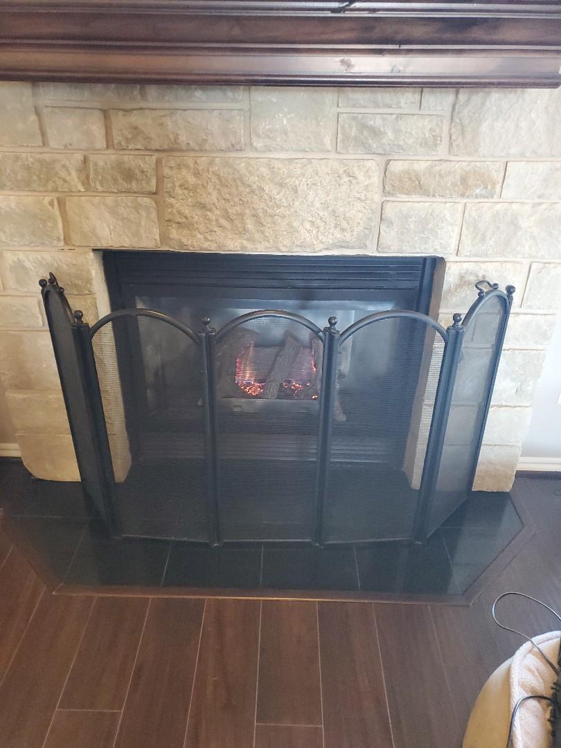 Yukon, OK - Gas fireplace service