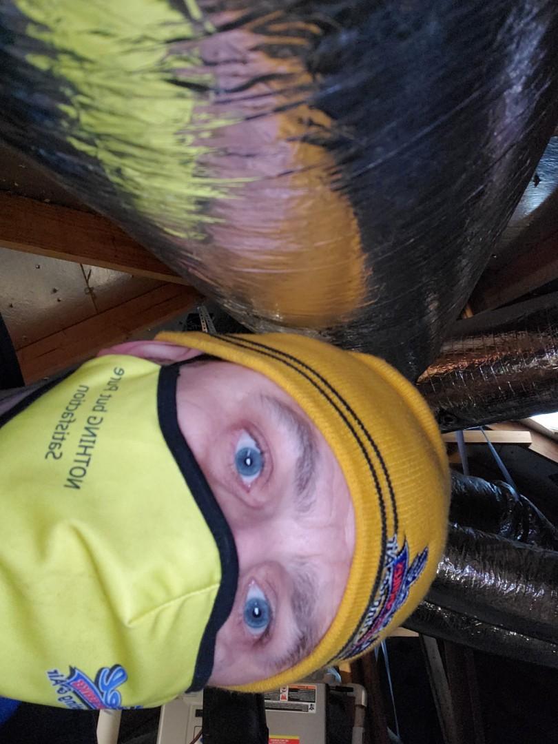 Furnace Repair condensate drain frozen