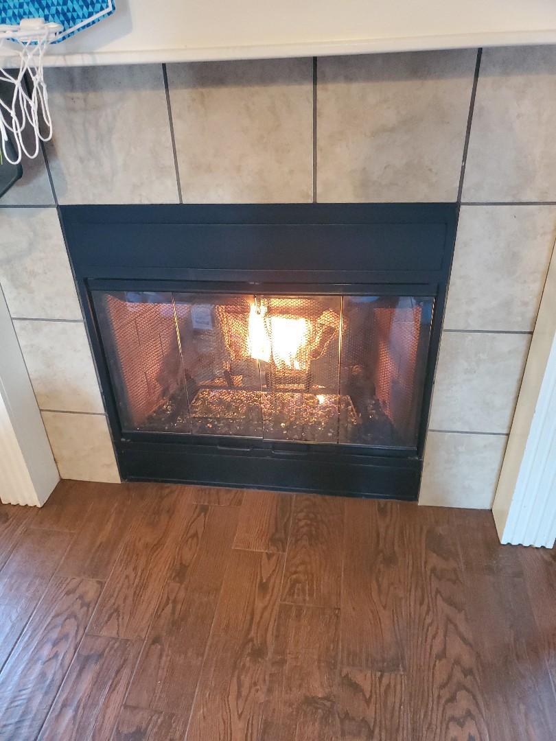 Yukon, OK - Gas fireplace repair