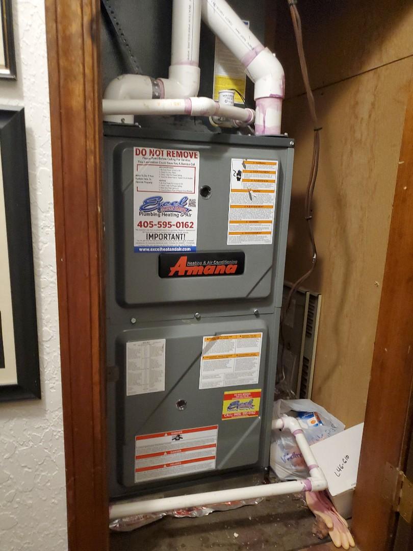 Ac repair Amana heat pump condenser
