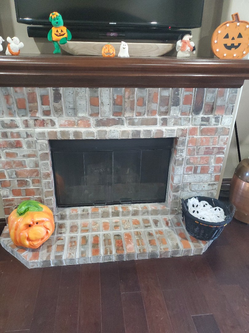 Gas fireplace service call replaced D batteries