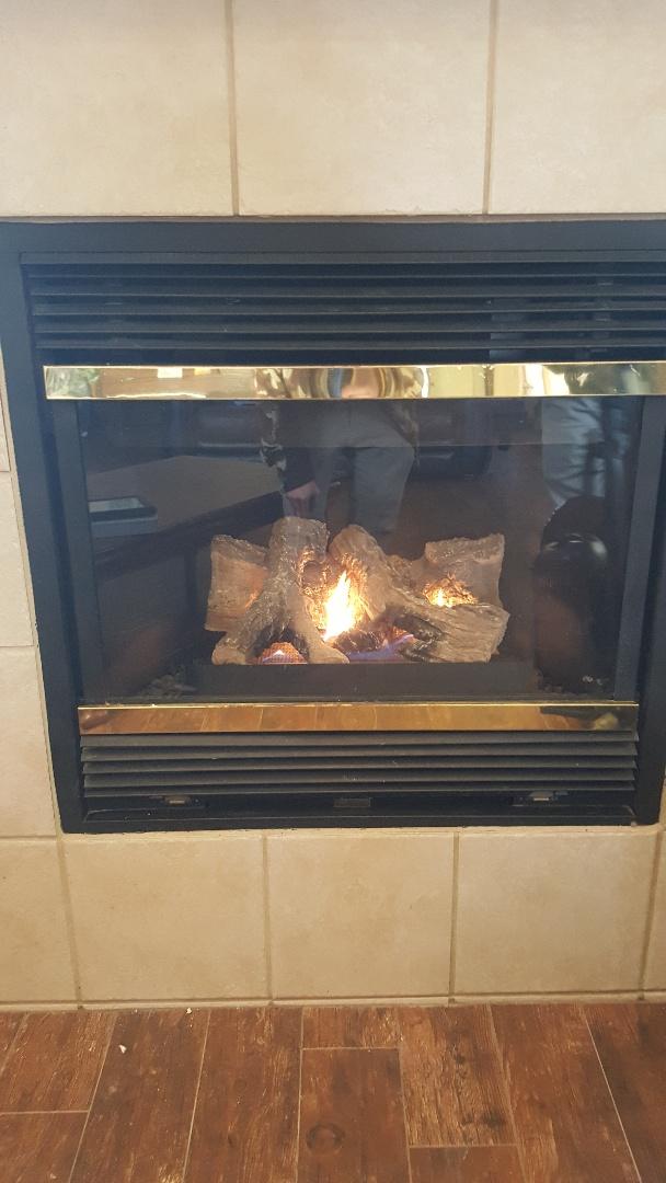 Piedmont, OK - Majestic propane gas fireplace ignition system needed set correctly