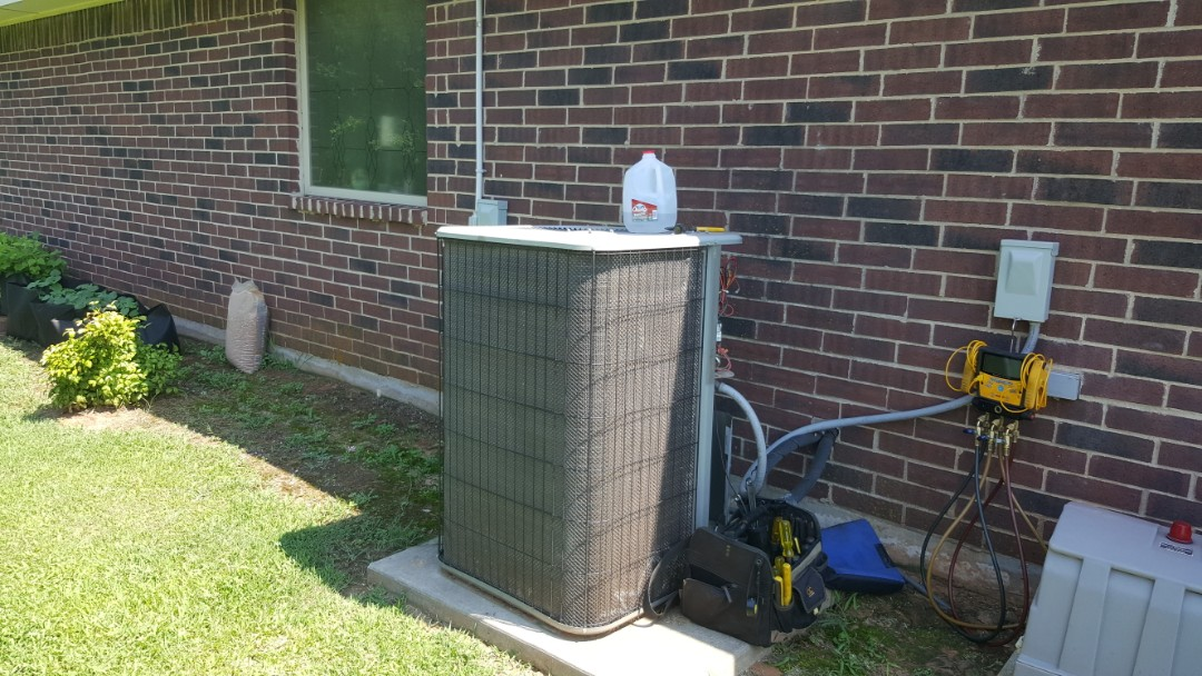 Arcadia, OK - Lennox hvac repair near Waterloo Falls