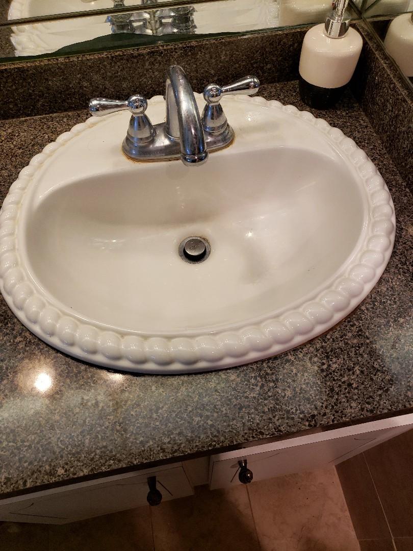 Master sink clogged