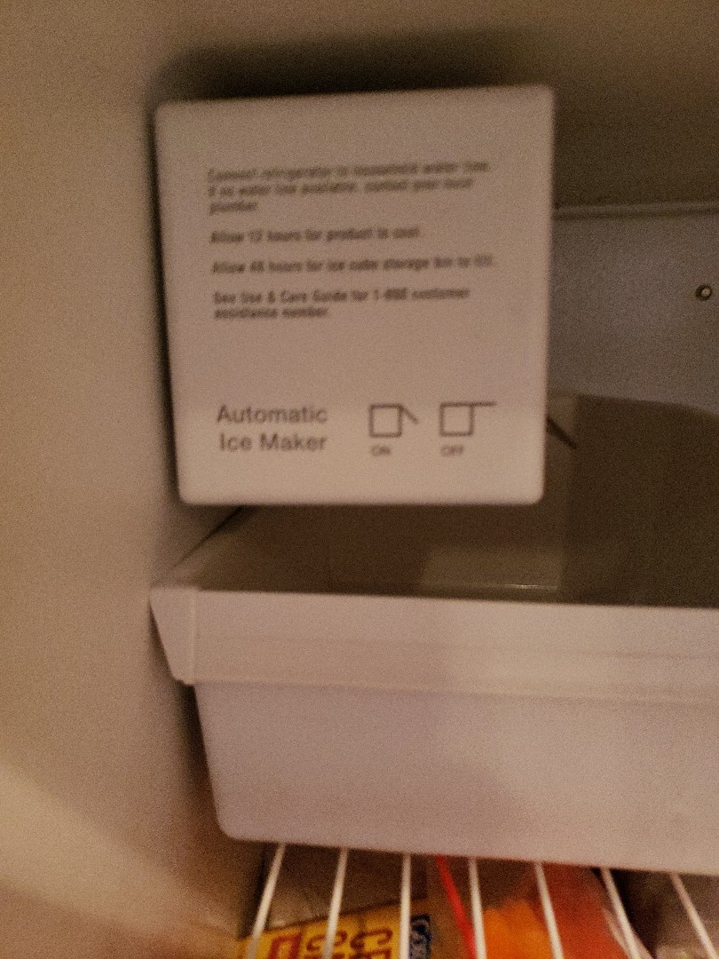 ICE-MAKER NOT WORKING