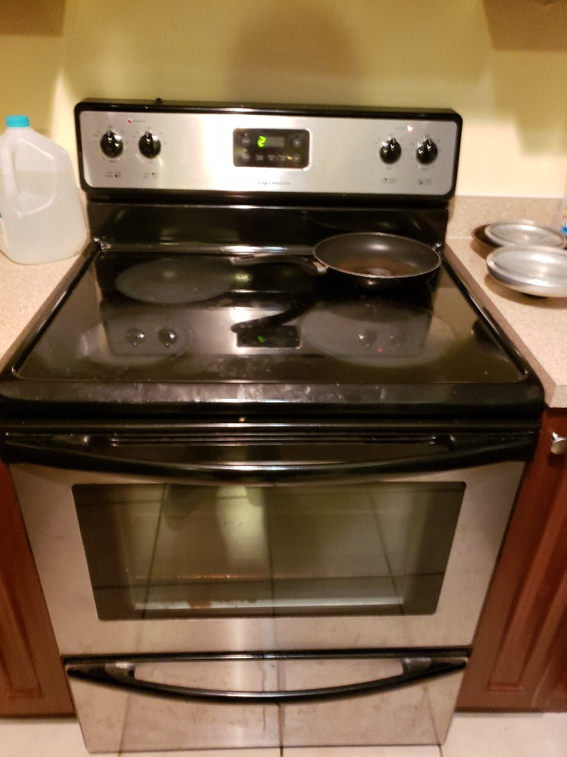 Oven range not working properly