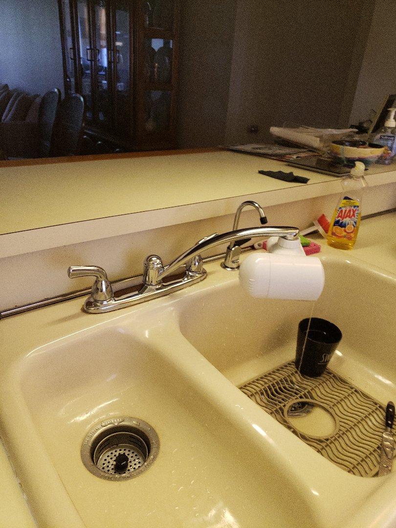 Kitchen sink fct leaking