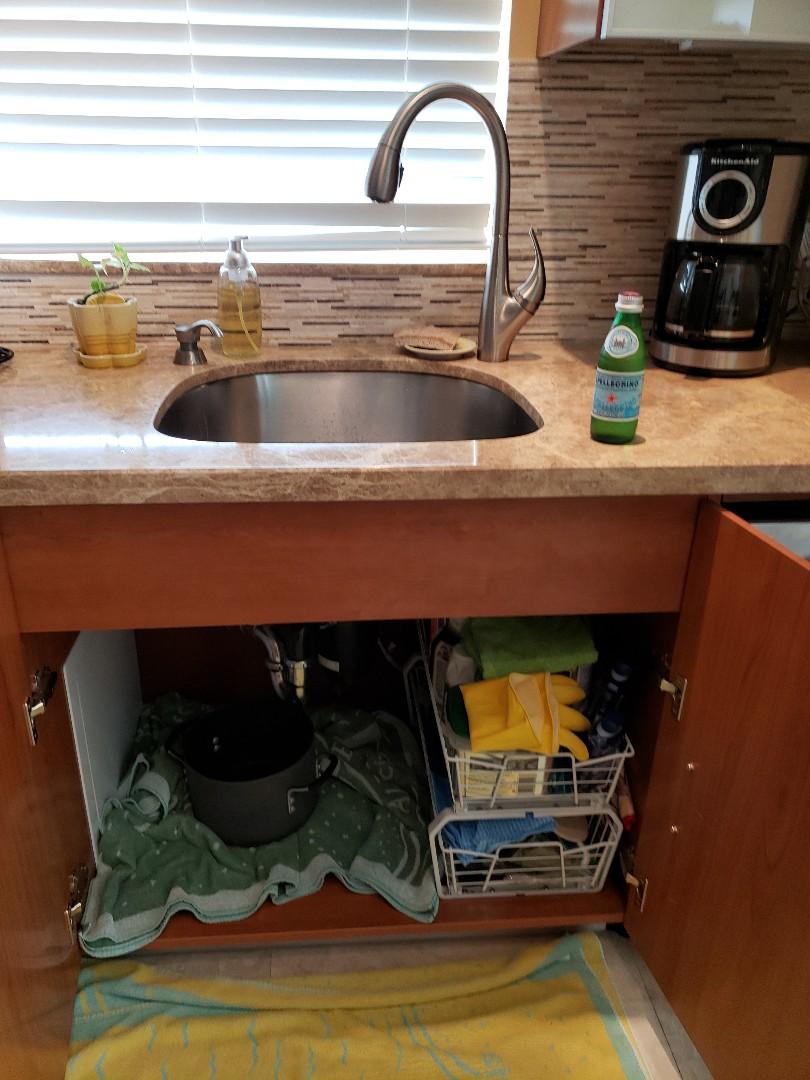 Fort Lauderdale, FL - Kitchen sink leaking