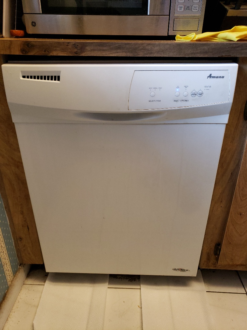 Pembroke Pines, FL - Amana dishwasher gasket door came out
