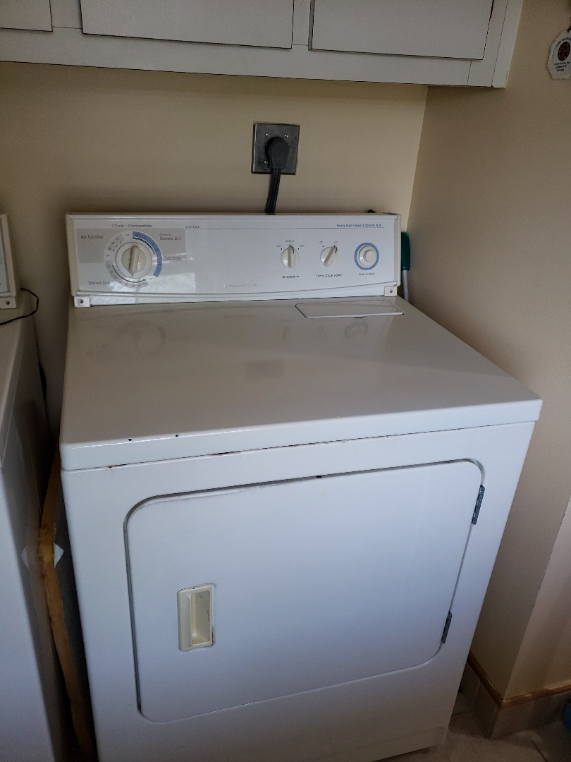 Pompano Beach, FL - Kitchenaid dryer out