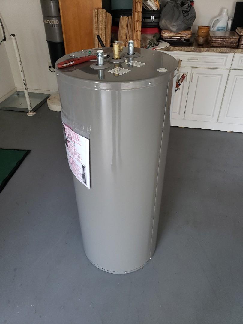 Wellington, FL - Installing new water heater