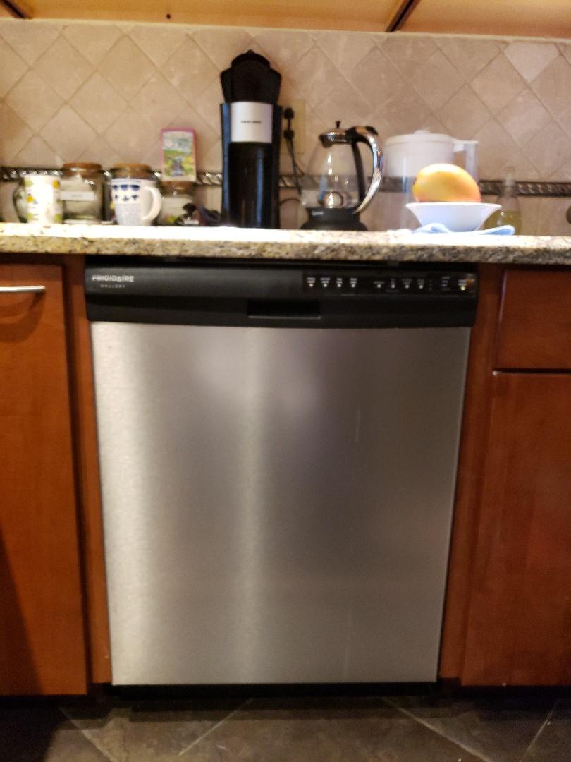 Frigidaire dishwasher door not operating correctly