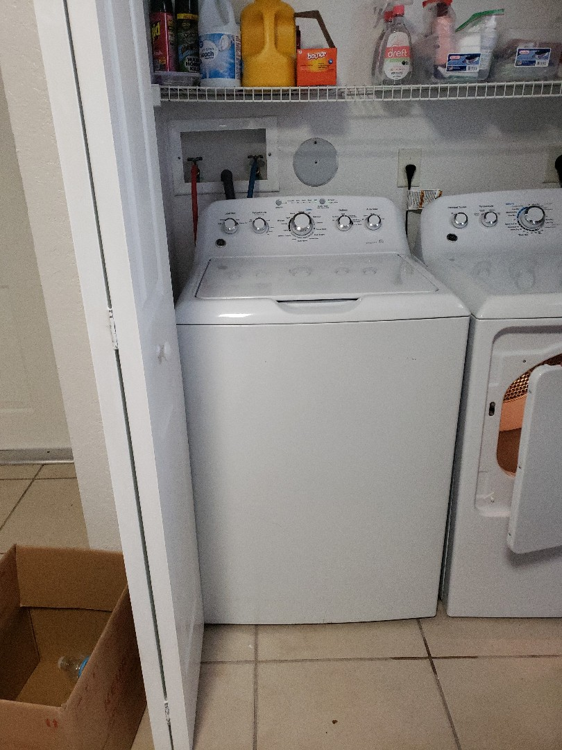 Weston, FL - GE washer out